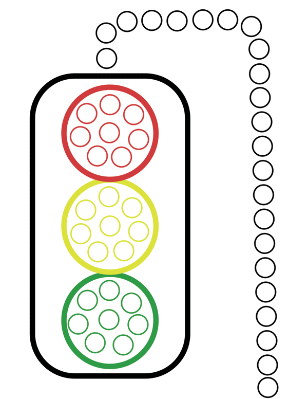 photograph relating to Printable Bingo Markers named Printable Push Sheets for Mini Do a Dot Preschool