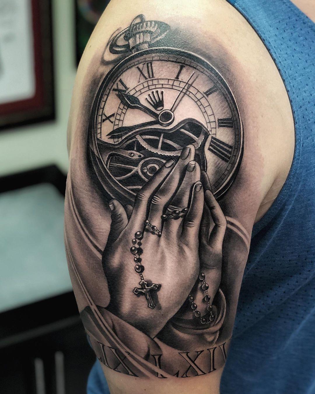101 Amazing Praying Hands Tattoo Ideas You Will Love In 2020 Praying Hands Tattoo Hand Tattoos Praying Hands Tattoo Design