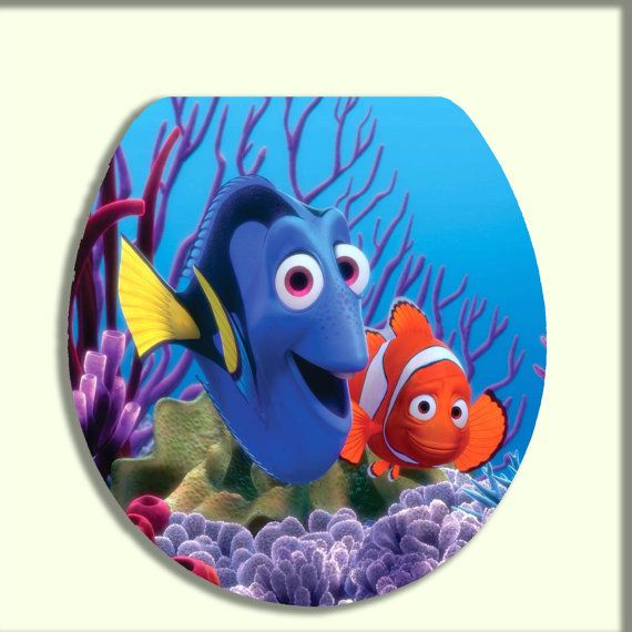 Miraculous Finding Nemo Toilet Seat Lid On Etsy 50 95 Trentons Alphanode Cool Chair Designs And Ideas Alphanodeonline