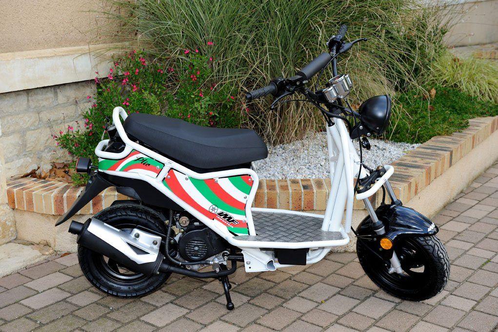 Le scooter IMF Ptio 50 sera assemblé sur le sol français
