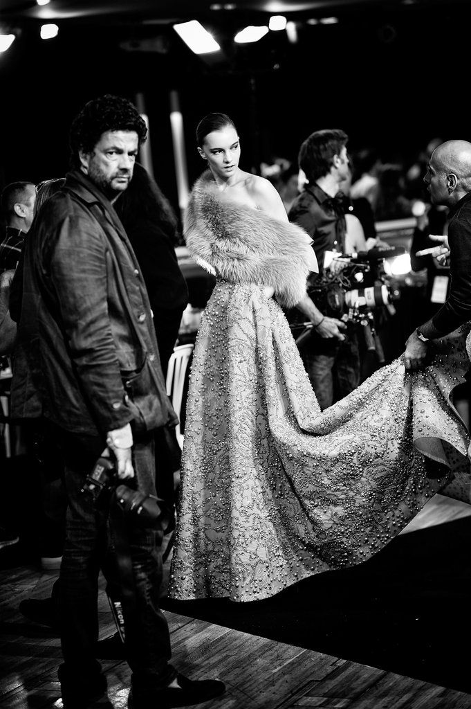 Black-and-White Photos From Haute Couture Fashion Week 2014 | POPSUGAR Fashion UK