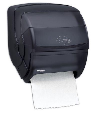 San Jamar Integra Lever Roll Paper Towel Dispenser Black How To