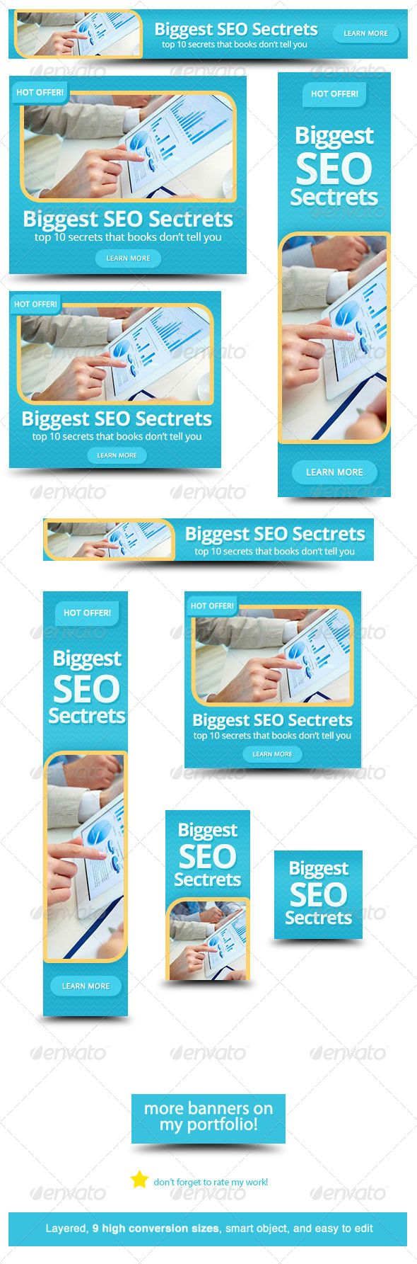 Design google banner ads - Seo Web Banner Design