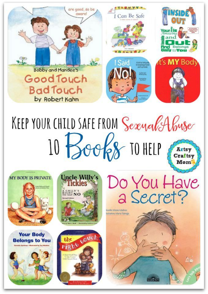 10 books to help keep your child safe from sexual abuse - Good Touch Bad Touch Coloring Book