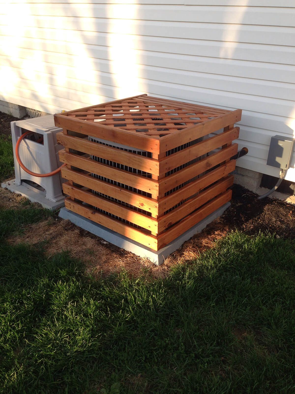 A Trellis Top Adds Further Disguise Home Amp Garden In