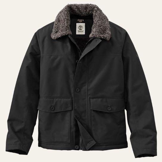 Men's Rollins Mountain Waterproof Fleece-Lined Bomber Jacket ...