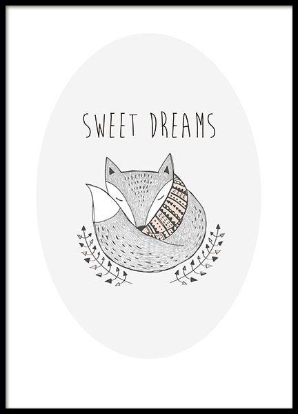 Sweet Dreams, julisteet ryhmässä Julisteet  @ Desenio AB (8554)