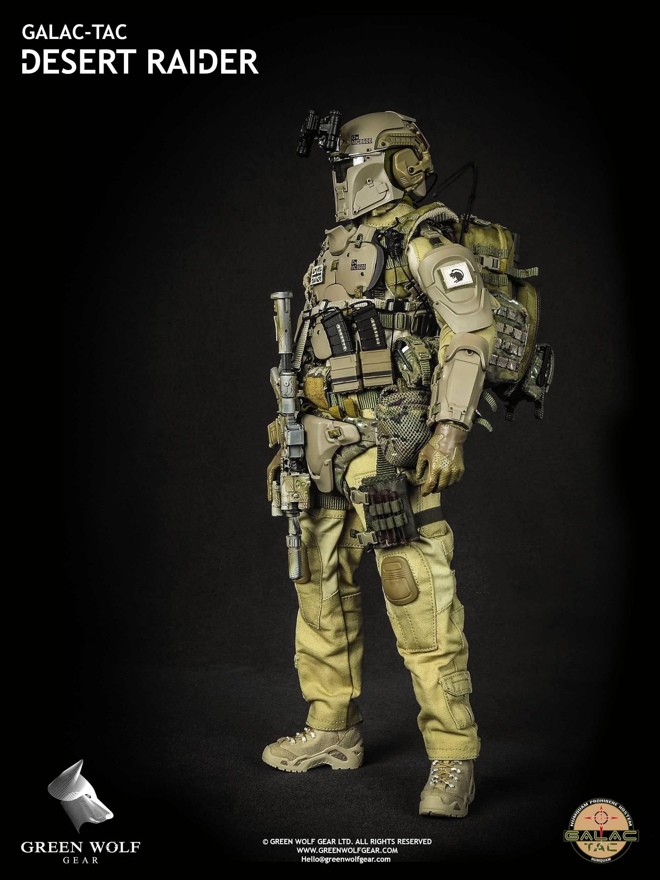 Green Wolf Gear Galac-Tac Desert Raider - 003