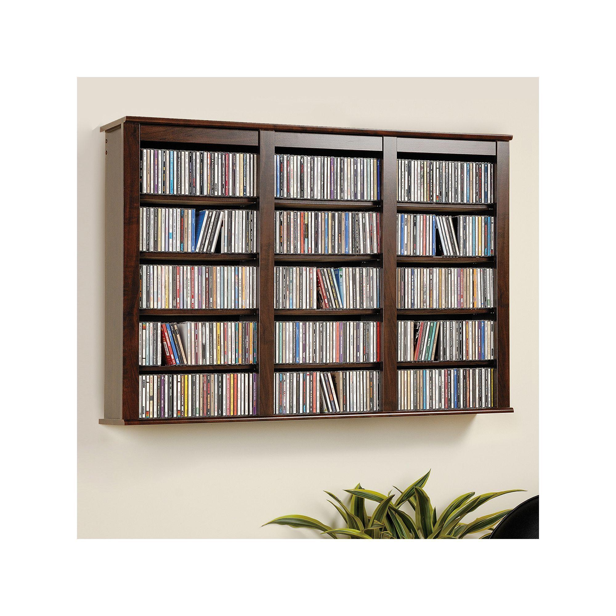 Prepac Wall Mounted Multimedia Storage In 2020 Wall Mounted Storage Shelves Wall Mounted Shelves Media Storage Cabinet
