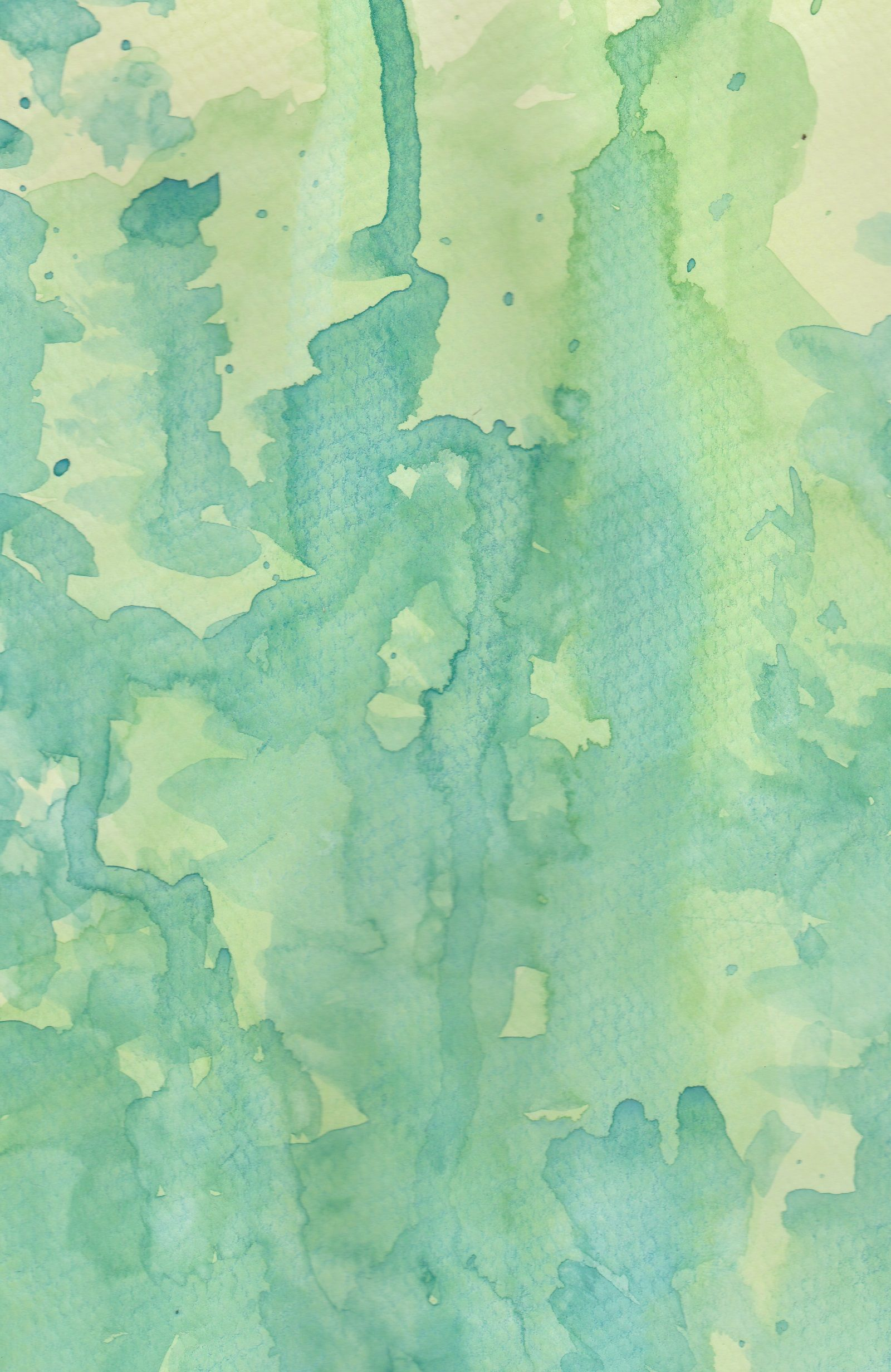 Abstract Spring Green Watercolor Texture Photography Backdrop