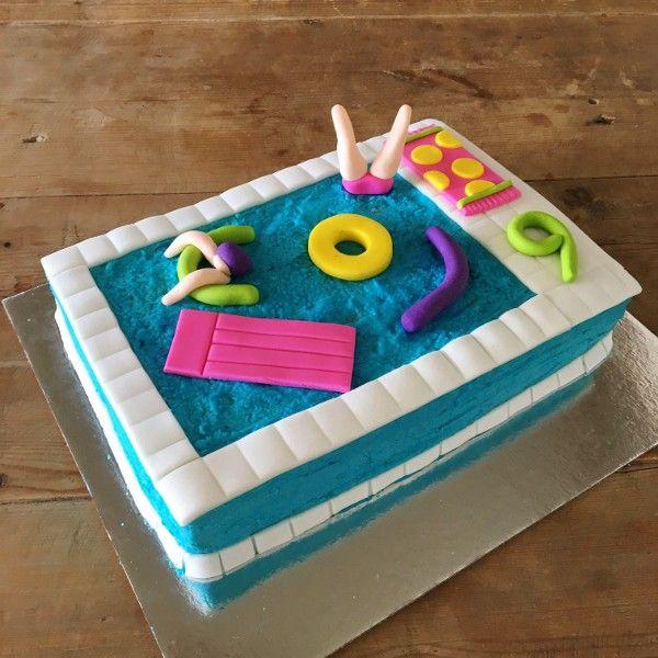 Pool Party Cake Kit Pool Cake Pinterest Pool Party Cakes Pool