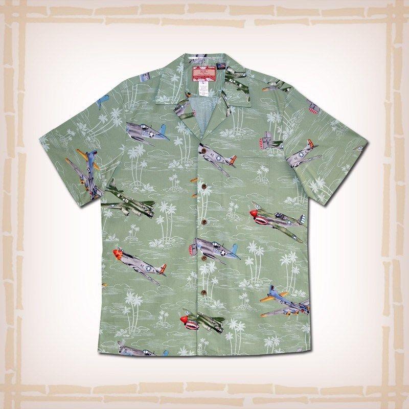 RJC Mens Fighter Bomber Aircraft Shirt