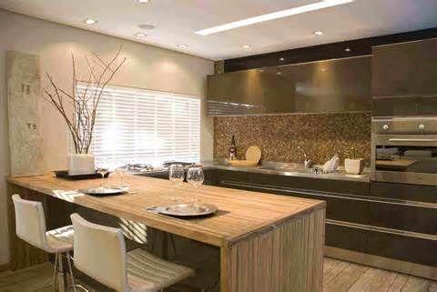 Apartamentos de luxo: trabalho forte na decoração