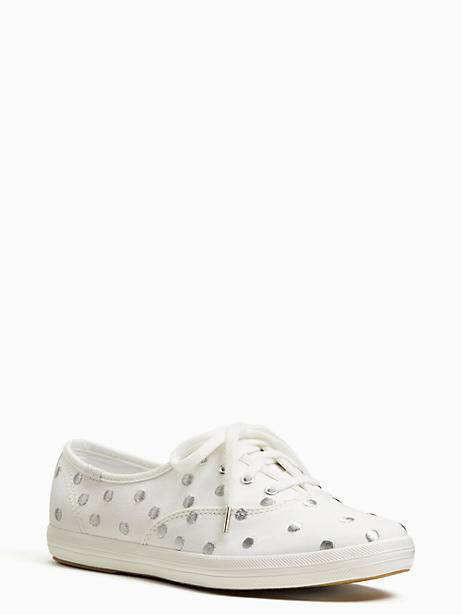 6acc118af283 Keds X Kate Spade New York Champion Dancing Dot Sneakers
