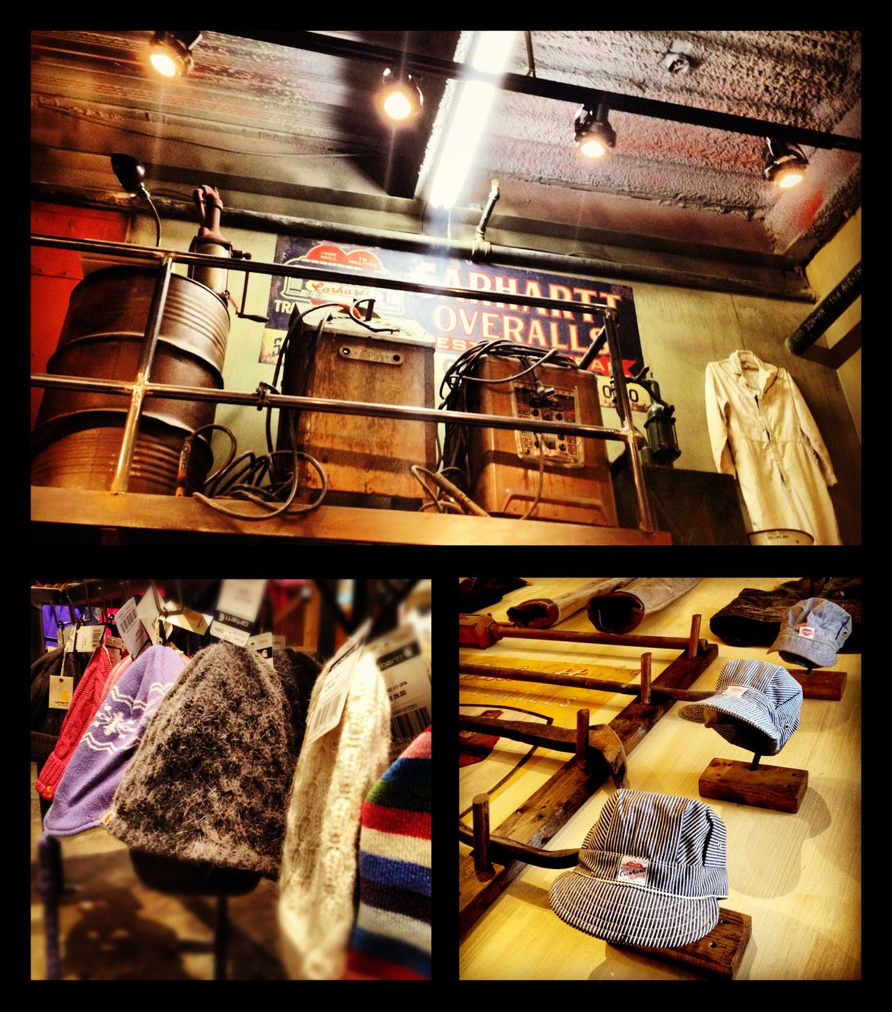 a5b3445555 Industrial work themed Carhartt store in Albany at:One Crossgates Mall Road  Albany, NY