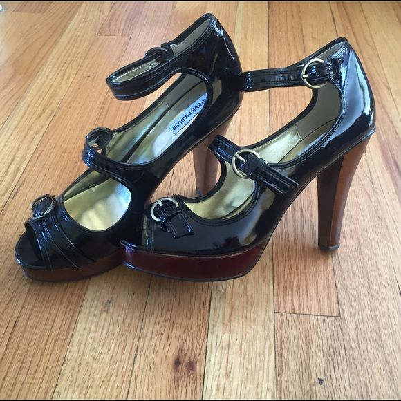 ccebfbb7bcb Steve Maddens Patent Leather Heels Steve Maddens Patent Leather Heels