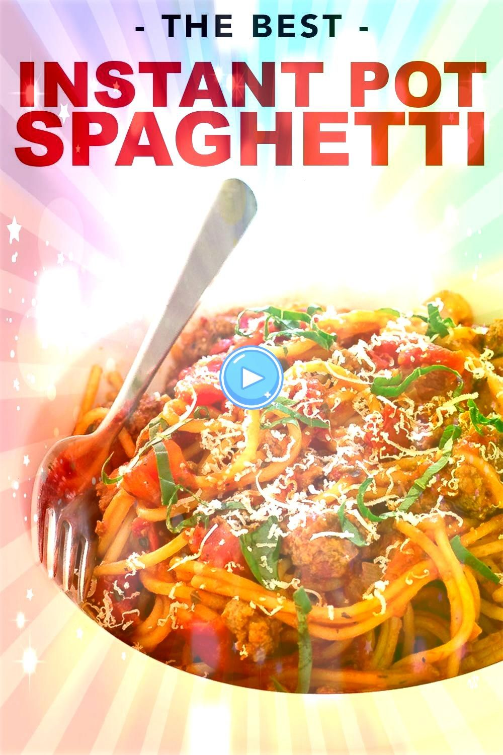 Savvy  A food Blog with easy to follow recipes Instant Pot Spaghetti A super easy meat sauce spaghetti cooked in the instant pot and ready in less than 30 minutes Perfect...