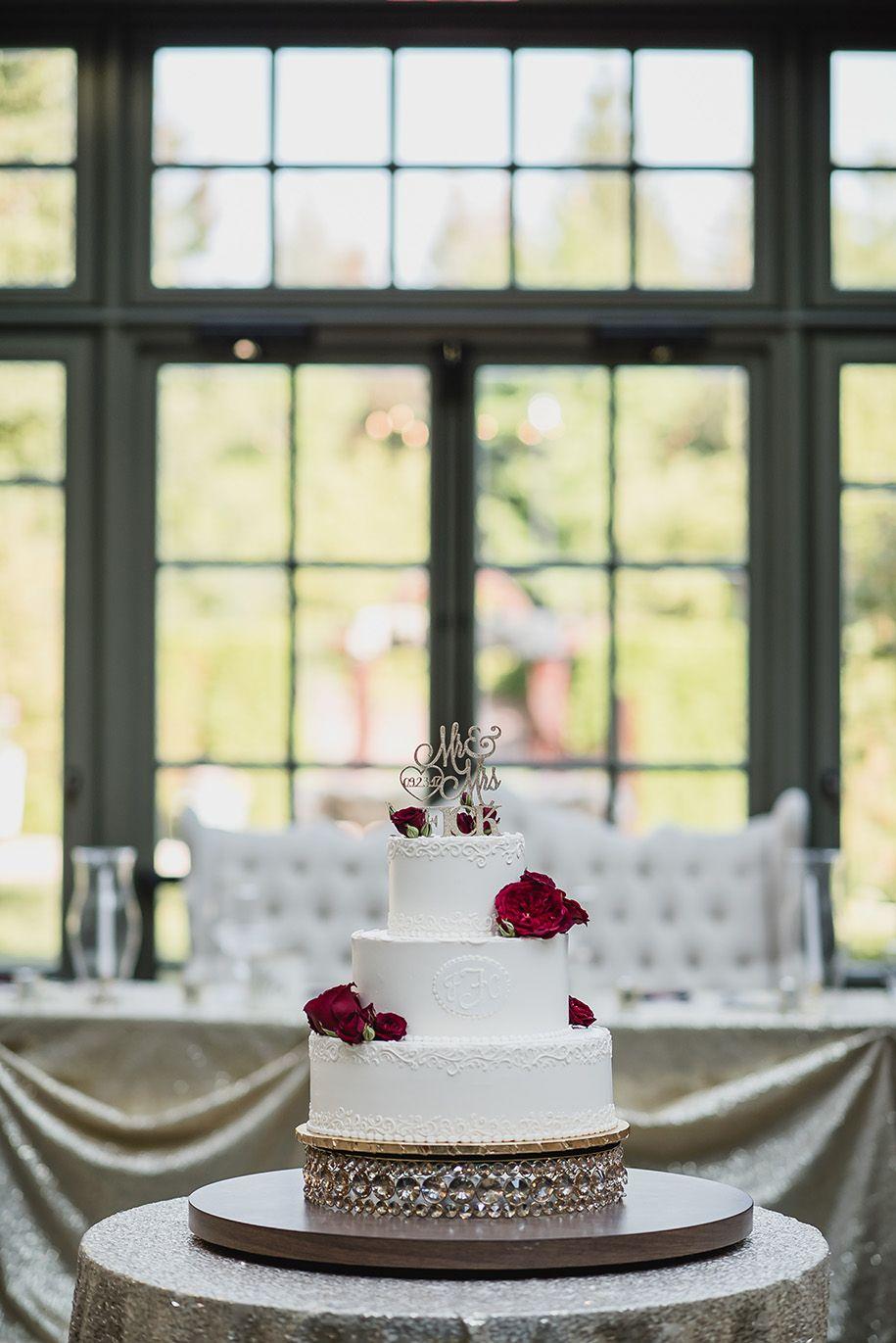 Maroon and cream wedding decor  royal park hotel fall wedding  chantel  jeff i do  kari dawson