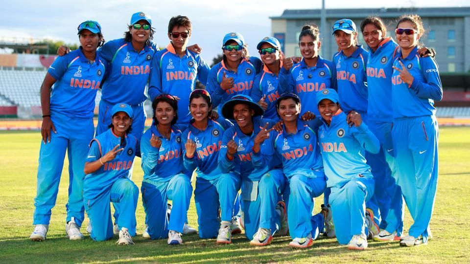 The Indian Cricket Team Advanced To The Final Cricket Teams Cricket World Cup India Win