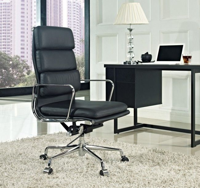 High Quality Buy The Eames Aluminium Soft Pad Executive Chair Replica From Barcelona  Designs And Get A George Nelson Clock With It Absolutely Free. No Hidden  Charges!