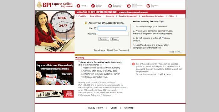 BPI Login Online Banking Online