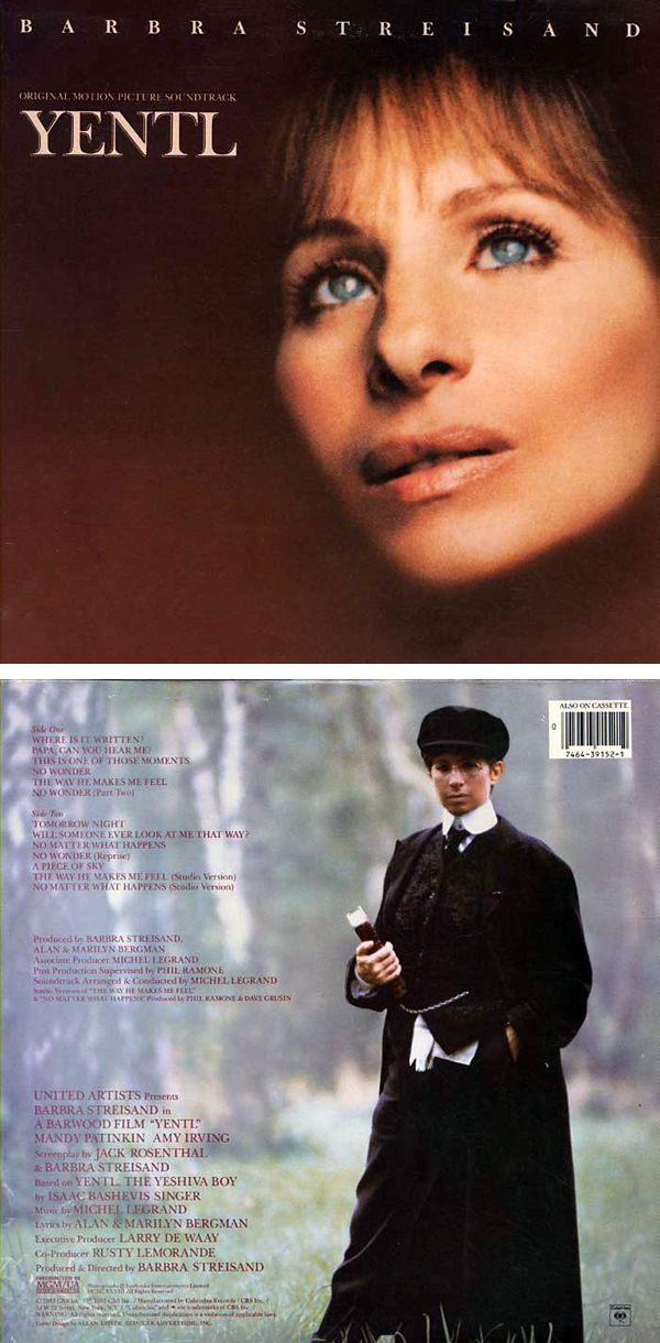 109 Best Images About Yentl 1983 On Pinterest: Barbra Streisand, Barbra, Celebrity Music