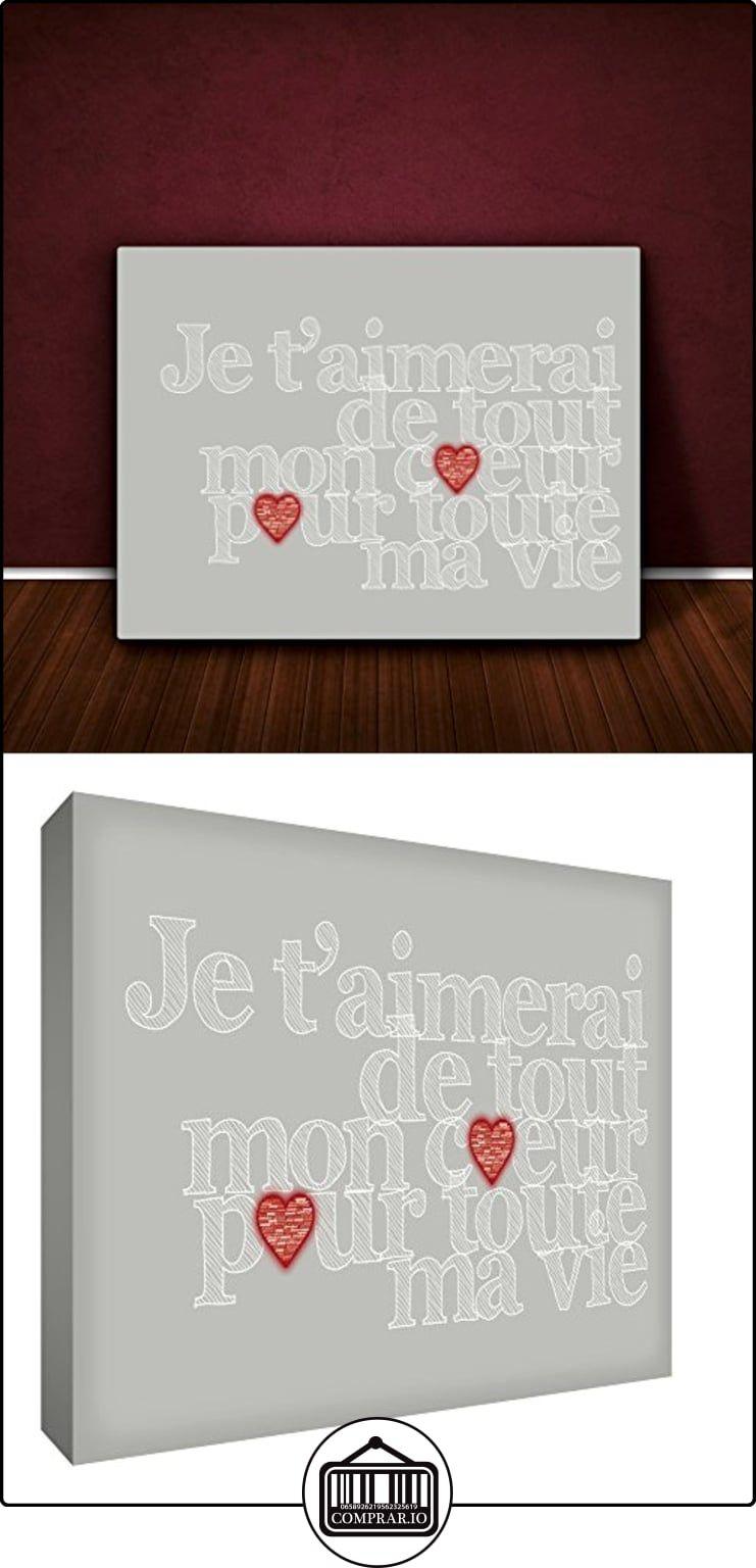 Feel Good Arte en la marco Lienzo amaré toda mi corazón para toda mi ...