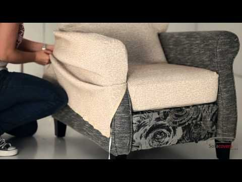 Slipcover Wing Chair Using A Easy Pattern Method Part 1