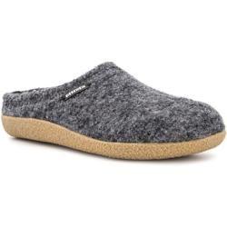 Photo of Giesswein men's shoes slippers, new wool, light gray mottled Giesswein