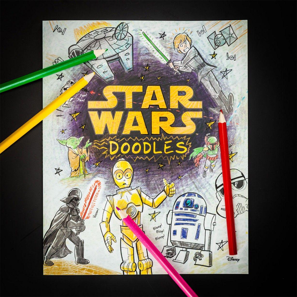 Star Wars Kritzel- und Malbuch für die Kleinen unter den großen Star ...