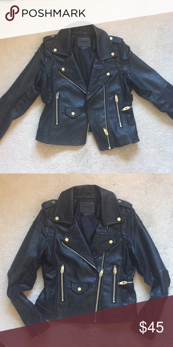e853505a8 BlankNYC Life Changer Moto Jacket Faux-leather jacket has NEVER been ...