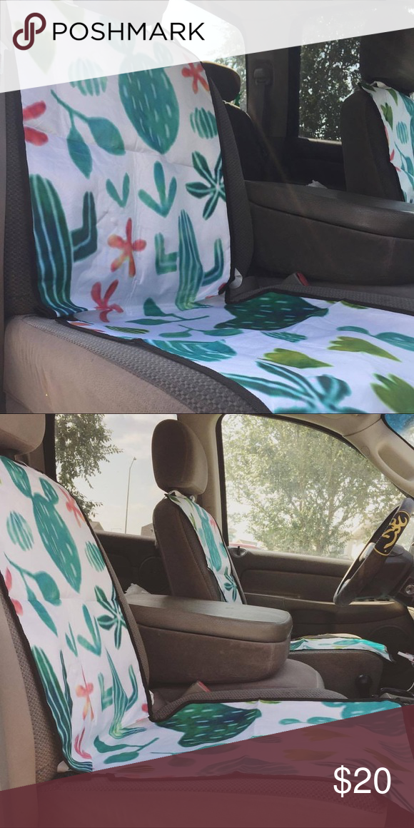 Admirable Cactus Car Seat Covers Make Your Car Look Even Cuter Gmtry Best Dining Table And Chair Ideas Images Gmtryco