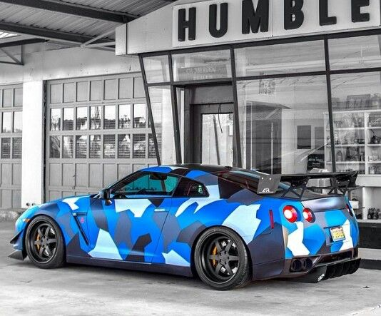 Blue camo gtr nissan gtr pinterest blue camo nissan for Woodland motors used cars