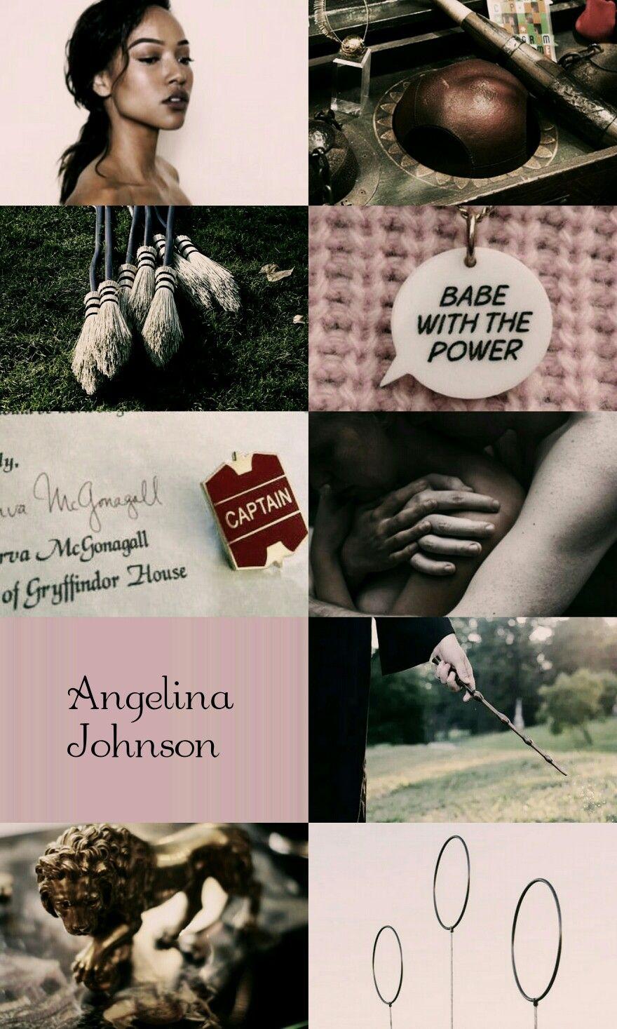 Angelina Johnson From Harry Potter Harry Potter Pictures Harry Potter Aesthetic Harry Potter Characters