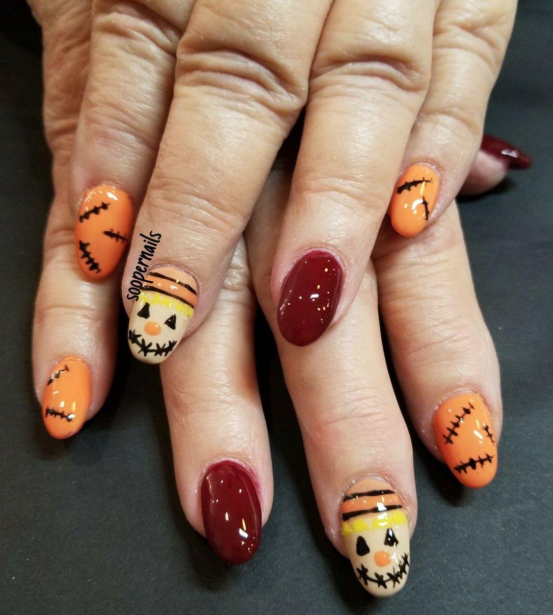 Scarecrow Nails Nails Nail Art Designs Acrylic Nails