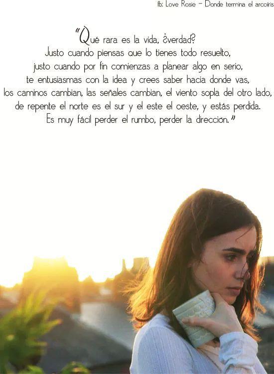 Love Rosie Frases De Peliculas Romanticas Amor Frases De Amor Y
