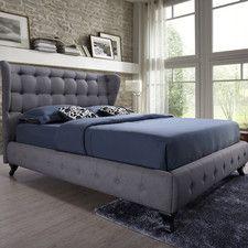 Baxton Studio Bellissimo Upholstered Platform Bed