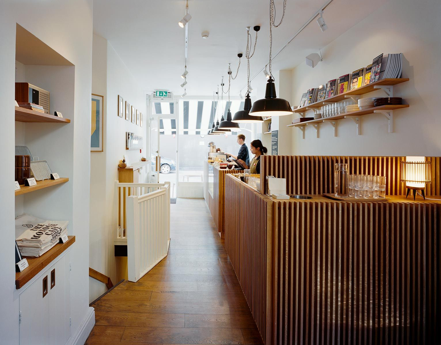 The Monocle Caf Design Focused Hipster Lunch Spot In Marylebone From Makers Of Magazine