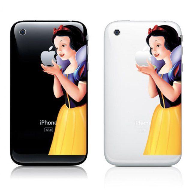 Schneewittchen Apple Smartphone Iphone Aufkleber Und
