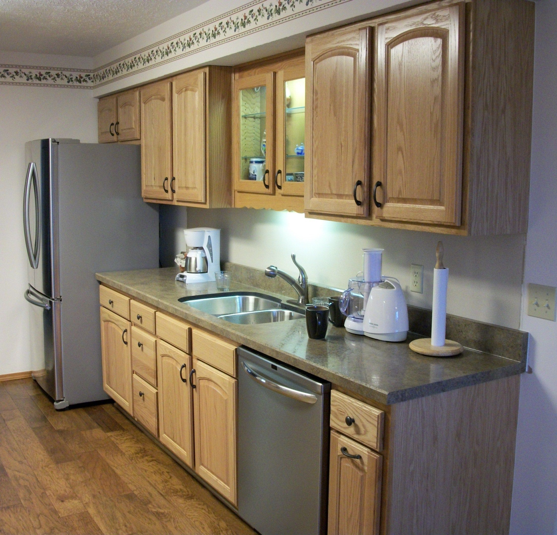 Solid Oak Arched Raised Panel Door Kitchen Www Canarycabinets Com Raised Panel Doors Kitchen Love Your Home