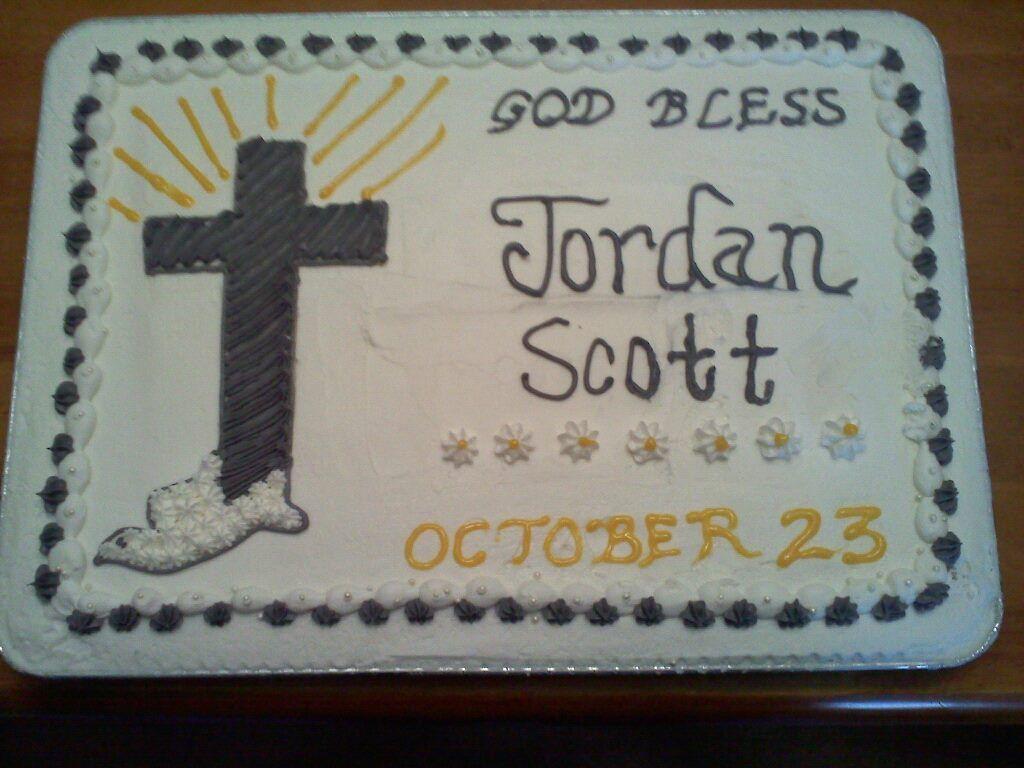 Confirmation Sheet Cake Confirmation Cakes Baptism Cake Sheet Cake
