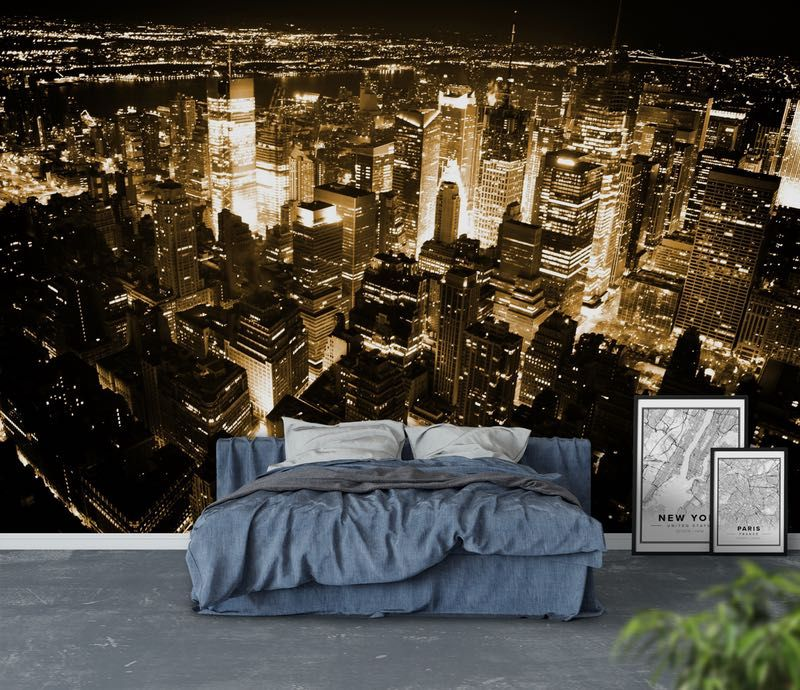 York Tapet - jugendzimmer im new york stil