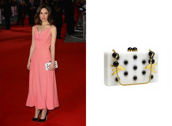 b559f1549816 Rose Byrne x Thalé Blanc Morning Dew Clutch | Handbags I love ...