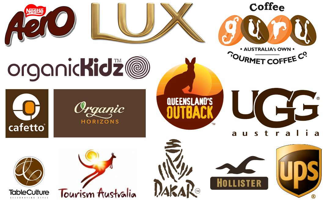 Colour Psychology in Brand Identity & Logo Design - Brown ...