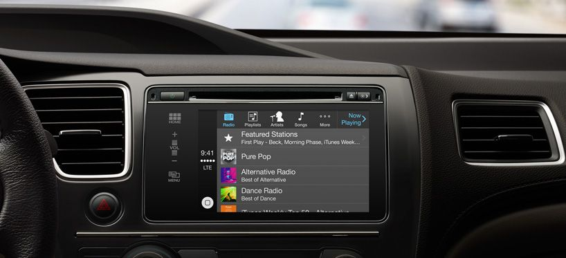 apple introduces CarPlay, an integrated iOS infotainment