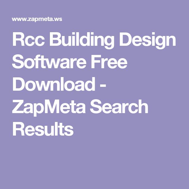 Rcc Building Design Software Free Download Zapmeta Search Results Building Design Software Building Design Design