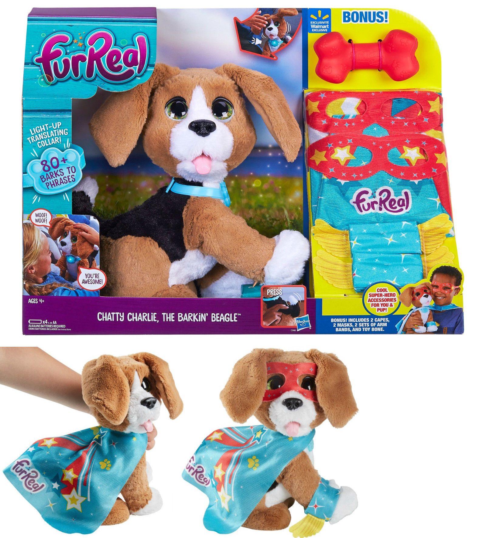Furreal Friends 38288 Furreal Chatty Charlie Barkin Beagle Super
