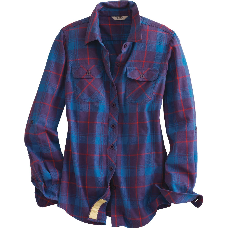 Flannel shirt season  Womenus Crosscut Performance Flannel Shirt  Duluth Trading