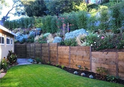 Landscaping Retaining Wall Ideas Tremendous 9 Landscape Design About On Small Wooden Landscaping Retaining Walls Backyard Retaining Walls Garden Retaining Wall