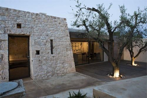 Extension of a small Saracen trullo, a typical rural building found in the Ostuni region of Italy,  VIA ARCHILOVERS